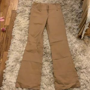 Khaki bell bottom pant